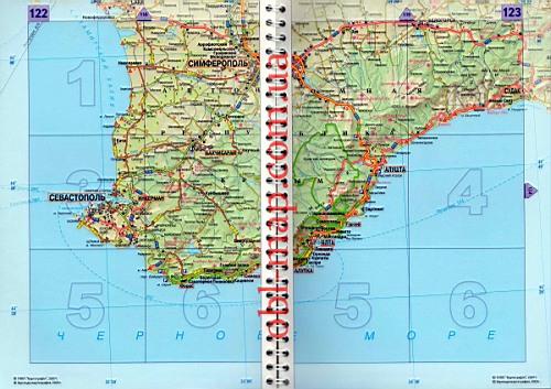 Подробная карта автомобильная карта